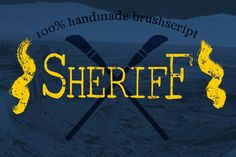 DOWNLOAD FREE this week!  Brush Serif - Collin *HAND PAINTED* by The Texture guy on Creative Market