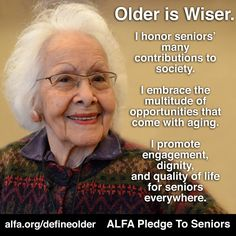 Join the pledge today to end ageism and to protect our older against financial and physical abuse. #EldercareAdvocacy #Ageism