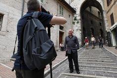 A nice shoot of McCurry in Perugia #McCurry #SensationalUmbria #SU14 #Perugia #mostra #Fotografia #Photography #exhibition #Umbria