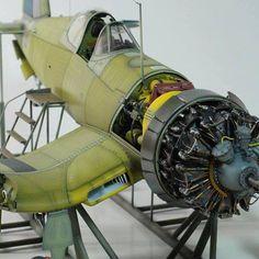 Plastic Model Kits, Plastic Models, Aircraft Propeller, F4u Corsair, Plane Design, Modeling Techniques, Model Hobbies, Model Airplanes, Model Ships