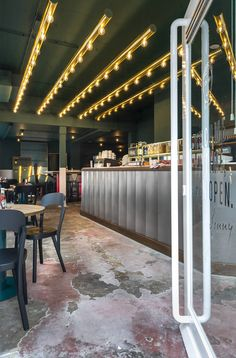 Go on my son: Monsieur Croque's prodigious offspring is the big cheese at offbeat Dutch restaurant...
