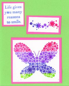 Reason to Smile Index Card by galleryindex - Cards and Paper Crafts at Splitcoaststampers