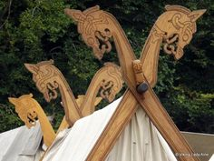 Over the past year I've often thought about posting about viking camp life. I have posted about Moesgard before, but this selection of photos are from this year. They are mainly of the camp i…