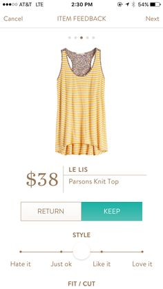 Le Lis top. I love Stitch Fix! A personalized styling service and it's amazing!! Simply fill out a style profile with sizing and preferences. Then your very own stylist selects 5 pieces to send to you to try out at home. Keep what you love and return what
