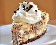When chocolate chip cookie met cheesecake