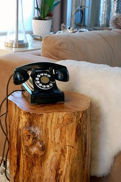 Antique-phone by The Art of Doing Stuff •• BTW, Karen ( the blog author) is hysterical! Always good for a belly laugh!