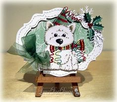 Christmas ... Decoration using my own Westie Doodle
