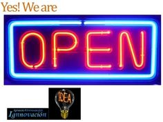 Open Innovation ; Yes we are!