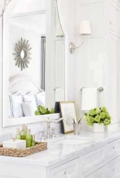 Classic white ensuite with silver headwater. Friday's Favourites: Gallerie B