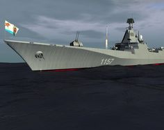russian navy destroyer project 1157 3d model  Soviet Navy Project 1157 Cruiser C4D