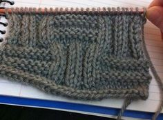 How to Knit the Big Basketweave Stitch