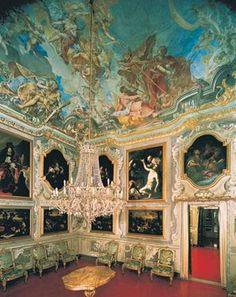Genova , Italy - Palazzo Spinola interior