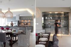 Modern living - kitchen and living space
