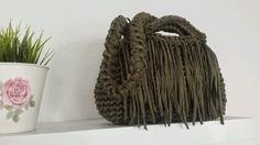 Tasche Hoooked KS Stil Einzigartig & Individuell in Damentaschen Bolso Trapillo Borsa Uncinetto