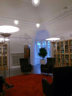 Malmørum stadsbiblioteket november 2013