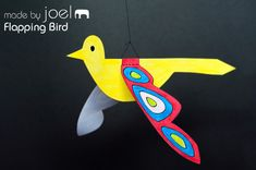 Made by Joel » Flapping Paper Bird Toy