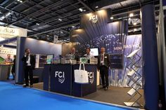 FCI ECOC 2013 Exhibit Created from Portable Architecture Modular Pop Up Display & Dressed With Graphics.