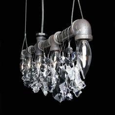 Tribeca Collection Bar Chandelier - Industrial Modern Lighting