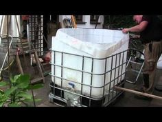 Video: Pool from IBC Tank Container build yourself - how it works - #Build #Container #IBC #Ideas #Pool #Tank #Video #works Tank Container, Ibc Tank, Rocket Stoves, Swimming Pools, Outdoor Tub, Outdoor Baths, Homemade Hottub, Diy Hottub, Garden Ideas