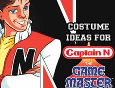 Dress up as Captain Nintendo! Girls can easily turn this into a chic female costume version, too!
