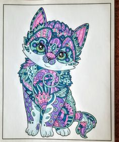 Creation Coloring Pages, Various Artists, Coloring Books, Art Ideas, Cute Animals, Pets, Creative, Boyfriends, Vintage Coloring Books