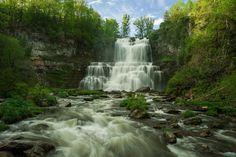 Chittenango Falls Cazenovia NY [OC] [4256 x 2832]