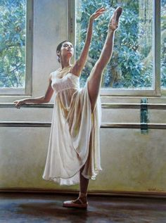 Buy 4 Ballerina Guan oil painting reproduction from Toperfect's artists in reasonable prices; our painters are famous for 4 Ballerina Guan paintings for sale, landscape art, portrait from photos, wall decor pictures, and more paintings on canvas. Ballet Art, Ballet Girls, Ballet Dancers, Ballerinas, Shall We Dance, Just Dance, Ballerine Vintage, Ballerina Painting, Dance Paintings