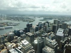 city view from Sydney Tower - Sydney, NSW