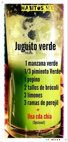 Jugo verde 8