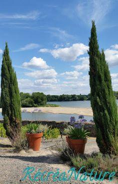 RécréaNature : Balade d'Eté près d'Angers #4 : Le Jardin Méditerranéen en Bords de Loire