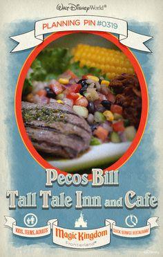 Walt Disney World Planning Pins: Pecos Bill