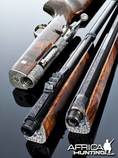 The 825 000 US Dollar Hunting Rifle Used By The Swedish Royal House: Swedish gun and rifle maker VO Vapen, founded in 1977 by master gunsmith Viggo Olsson, constructs the world's most exclusive handmade hunting rifles. Weapons Guns, Guns And Ammo, Bolt Action Rifle, Gun Art, Lever Action, Custom Guns, Hunting Rifles, Cool Guns, Firearms