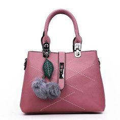 DIZHIGE Brand Fashion Fur Bags Handbags Women Famous Designer Women Leather Handbags Luxury Ladies Hand Bags Shoulder Sac