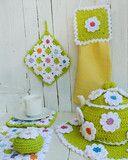 Floral Bliss Kitchen Set