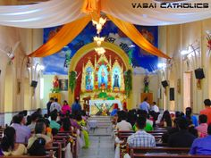 Our Lady of Mercy Church, Merces, Vasai on its Feast Day 27th September 2015.