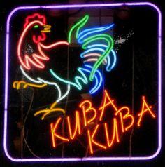 'KUBA KUBA' -NEON SIGN ๑෴MustBaSign෴๑
