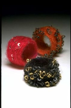 Shana Astrachan: 'Felted Rings'
