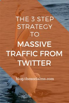 The three key elements of a successful Twitter marketing strategy to getting massive traffic from Twitter to any blog. And you can use it, too! twitter marketing tips, twitter marketing success, twitter traffic, twitter strategy, blog traffic from twitter, traffic generation, blog traffic #trafficgeneration #twittertips #twitterstrategy #twitteradvice
