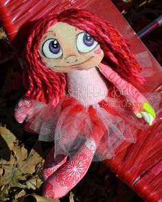Valerie by Scribble Dolls, via Flickr