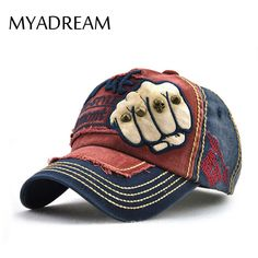 >> Click to Buy << MYADREAM Retro Rivet Personality Fist Baseball Cap Hip Hop Hats for Men Women 5 Panel Hat Caps Bone Masculino Cotton Gorras Cap #Affiliate
