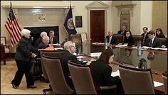 Fed Chair Janet Yellen Takes Her Seat at an Open Meeting of the Federal Reserve Board of Governors on November 30, 2015 to Vote on a New Bailout Rule