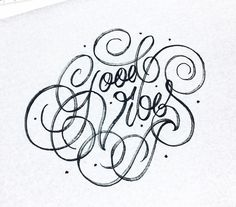 Good Vibes - Happy Sunday - #letteringonsunday #50words #type #typegang #letteringco #goodtype #thedailytype #betype #goodvibes #letteringpractice #lettering #handlettering #bftype #typostrate #brushlettering #typematters #tyxca #goodtypography
