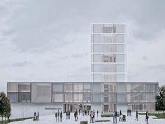 Tekirdağ Büyükşehir Belediye Hizmet Binası, Meydan ve Çevresinin Düzenlenmesi Mimari ve Kentsel Tasarım Projesi Yarışması