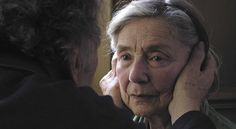 """Amour"" by Michael Haneke.  A tender, wrenching story of love and death about  a Parisian couple in their 80s."