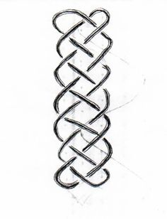 Waldorf ~ 4th grade ~ Form Drawing ~ Vertical Braiding