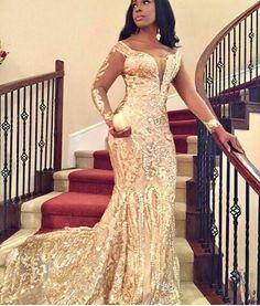 34 ideas wedding reception dress for guest gowns for 2019 Nigerian Wedding Dress, Nigerian Bride, African Wedding Dress, Nigerian Weddings, African Weddings, Gold Wedding Gowns, Wedding Attire, Wedding Dresses, Wedding Reception