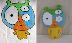 This lady turns child's drawings into stuffed dolls!  So cool for when Ella gets older :)