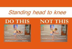 Perfecting the Bikram yoga poses: Standing head to knee