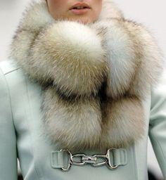 oh. my. gosh. FUR. Furry Coat