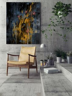 Items similar to LargeWall Art Original Abstract Painting for Decor Contemporary Wall Art Modern Art Extra Large Original Abstract Painting on Canvas on Etsy Large Canvas Wall Art, Extra Large Wall Art, Contemporary Abstract Art, Abstract Wall Art, Abstract Oil, Large Painting, Hanging Art, Image House, Modern Interior Design